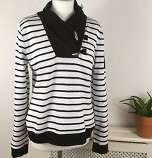 Ralph Lauren Knitted Jumper 14 16 Uk Colour Block Cowl Neck New With Tags $95.00