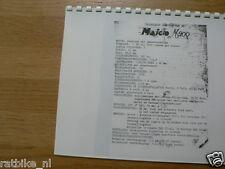M0100 MAICO---INSTRUCTIE BOEKJE M200----MODEL