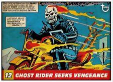 Topps Marvel Collect - Vintage Panels GHOST RIDER SEEKS VENGEANCE *Digital