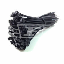 500 CABLE TIES - 4.8mm x 300mm - BLACK - NON-RELEASABLE - WIRE TIDY ZIP TIE *