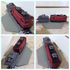 Modellismo, treno elettrico Bandai con motore n. 1, scala N, analogico nuovo