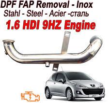 Downpipe DPF FAP Removal Peugeot 206 207 208 3008 5008 1.6  HDI 90 110 bhp PS1