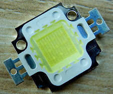 10 Stk. 20000K 10 W LED Chip  9-10V, 900 Lm, High Power, COB, Aquarium, Neu