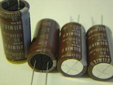 4 pcs 1000uF 35V ELNA RFS SILMIC II AUDIO Capacitor +85°RM7,5 NEU