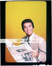 "1980s Original 4x5 Transparency Host DICK CLARK ""AMERICAN BANDSTAND"" BLOOPERS 09"