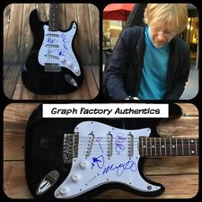 GFA x4 Trey Anastasio Full Band * PHISH * Signed Electric Guitar PROOF COA