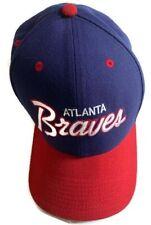 Atlanta Braves Nike MLB Wool Curved Brim Snapback Cap Hat Cooperstown OSFM