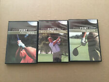 Golf Instructional Video * 3 Dvds * Full Swing * Max Distance * The Driver