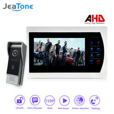 "JeaTone Motion Detection and Voice Message 7"" AHD 720P Video Doorbell Intercom"