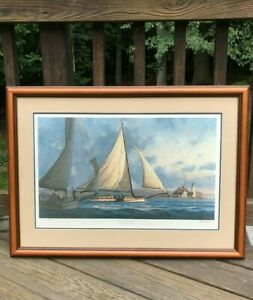 "John Morton Barber Signed & Numbered ""Morning At Cove Point"""