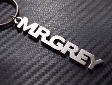 MR GREY 50 Shades Personalised Name Keyring Keychain Key Fob Bespoke Gift