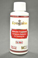 Lipogaine for Men with Minoxidil, 1 bottle  Intensive Hair Regrowth Treatment