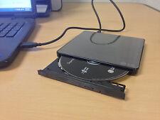 LG 8x Slim DVDRW USB External Burner - Windows 8 & 8.1 - All PC Laptop Mac