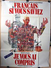 Art : Politzer : Français Si Vous Saviez 3 : POSTER