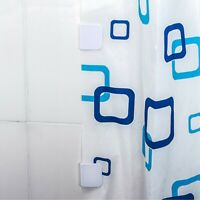 Anti-Splash Shower Curtain Clips Stop Water Leaking Guard - UK