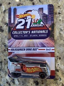 Volkswagen Drag Bus 2021 Hot Wheels 21st National Convention #3 in Series Finale