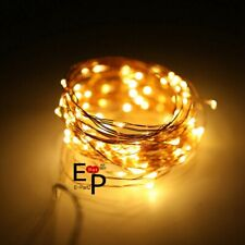 LED String Fairy Lights Copper Wire Battery Powered Waterproof 20 / 50 / 100 LED