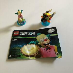 LEGO Dimensions 71227   The Simpsons Fun Pack   Used 100% Complete