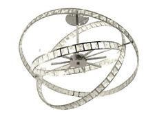 Lámparas de araña de iluminación de techo de interior para el comedor color principal plata