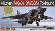 "AMK MIKOYAN MIG-31 BM/BSM FOXHOUND ""LIMITED EDITION"", 1/48, #88003-S, NEW!"