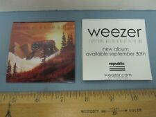Weezer 2014 Everything Will Be Alright In The End Promo Sticker New Old Stock
