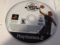 NBA Live 2004 (Sony PlayStation 2, 2003)Disc Only Free Shipping 25-3