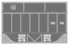 Noch 60720 ESCALA H0, Parking, gris, 2 piezas, 22x14cm 1qm =