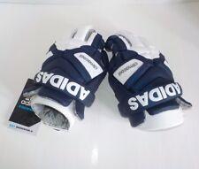 """adidas EQT BERSERKER LaCrosse Goalie Gloves BLUE WHITE AP6598 Medium Size 12"""""""