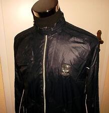 rare vintage 80`s ADIDAS Nylon oldschool blouson sport glanz shiny jacket Gr.M