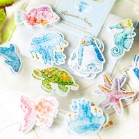 70PCS Mini Lovely Paper Sticker Tag DIY Diary Decor Sticker Album Scrapbooking
