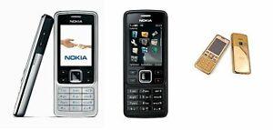 Nokia 6300 Handy / mit Folien / ohne Simlock | schwarz | Gold | Silber