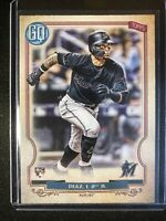 2020 Topps Gypsy Queen Isan Diaz #293 Marlins