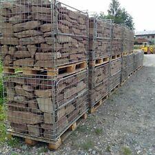1 t Buntsandsteine rot € 240/t Sandsteine Trockenmauer Gabionen Ruinenmauer