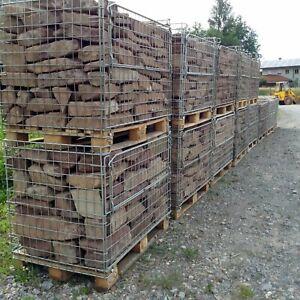 1 T Buntsandsteine Red €240 / T Sandstones Drywall Gabions Ruinenmauer