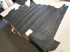 "Leather Hide Animal Printed Black 74 3/8"" X 39 1/4"""