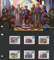 Alderney 2016 MNH Battle of Hastings 950 Yrs 6v Set Presentation Pack Stamps