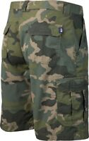 The North Face Cargo Short Tribe Graphite 32-36 camo camouflage green (small fit