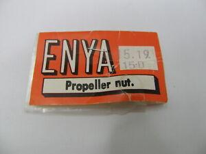 3 ENYA PROPELLER NUTS FOR ENGINE .15 .19 & .15D (Part # 15214) NIB