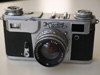 KIEV 4A Russian USSR Contax Copy 35mm Camera Jupiter 8m Lens