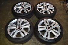 "Genuine Set Of 4 x 17"" BMW Mini Cooper S JCW Alloy Wheels & Tyres F55 F56 F57"