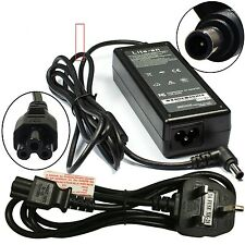 Genuine LITE AN Sony Vaio SVE151D11M Laptop Charger AC Adapter Power Supply