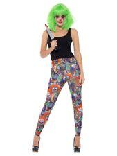 Creepy Clown Leggings Killer Clown Halloween Sexy Fancy Dress It Sml