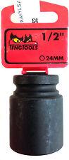Teng outil 920524-c avec 1.3cm MOTEUR 101780807 Douille impact 6pnt Hex 24mm