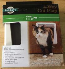 Pet Safe 4 Way Cat Flap Small 1-15 lbs