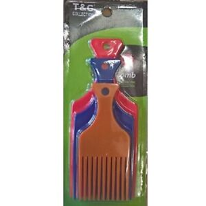 T&G COLLECTION STYLING AFRO PIK COMB SET *TG2470AST* *3 in a Pack*