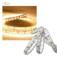 (13,91€/m) 1,2m FLEX SMD Streifen 144 LEDs warmweiß 24V Band Lichtband Leiste