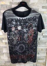 All Saints Ladies Size XS graphic Print T Shirt Top