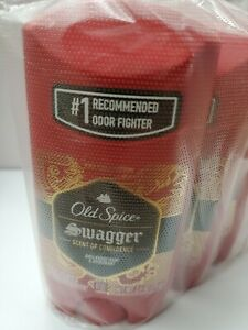 (6packs)Old Spice Red Zone Swagger Anti Perspirant Deodorants.2.6oz.Exp.04/22