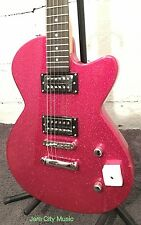 Daisy Rock Candy Electric Guitar Hot Pink Sparkle 2 Humbuckers