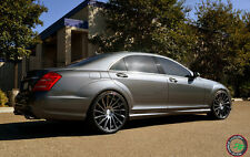 "22"" RF16 Road Force Staggered Wheels For Mercedes Benz S550 years 2007 - 2016"